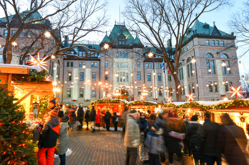 4 Day Quebecs Christmas Market