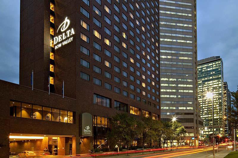 Delta Hotel Calgary Downtown Address