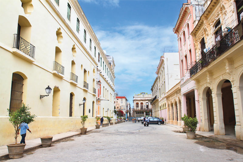 The Streets of Old Havana, Cuba