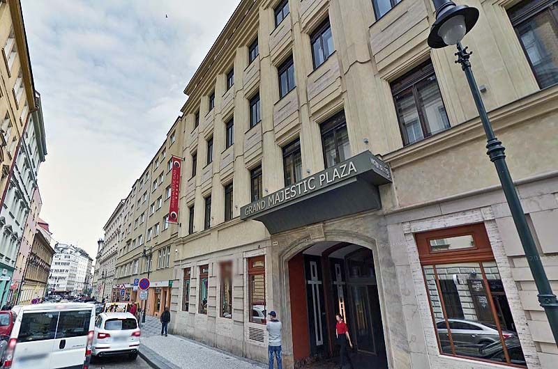 Grand majestic plaza for Europe hotel prague