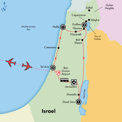12 Day Israel Ancient Modern Culture Visit Dead Sea Galilee