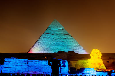 Cairo Sound & Light Show at Pyramids Thumbnail