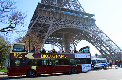 Big Bus Paris Hop On/Hop Off Tour - Premium - 2 Day Pass Thumbnail