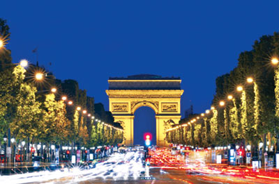 Illuminated Paris with dinner Thumbnail