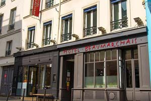 Hotel Beaumarchais Image
