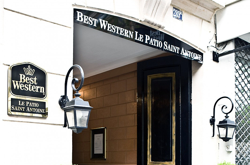 Best Western Le Patio Saint Antoine Paris, ...