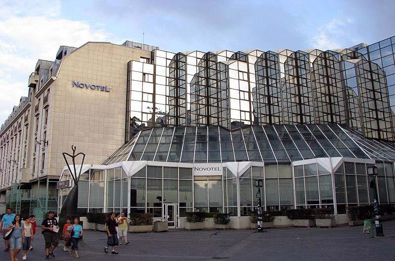Novotel paris les halles gate 1 travel more of the for La droguerie paris les halles