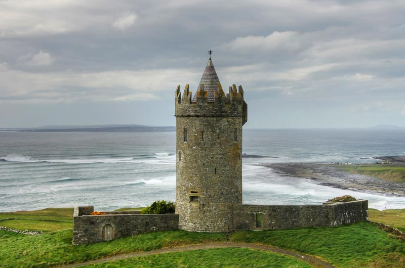 8 Day Irish Castles Fly & Drive