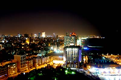 Panoramic Night Tour of Tel Aviv with dinner Thumbnail