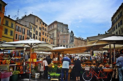 #M9 Campo de Fiori, Jewish Ghetto & Trastevere Food Walking Tour 10:00 AM Thumbnail