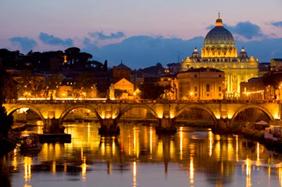 #8 Illuminated Rome by Night 8:45 PM Thumbnail