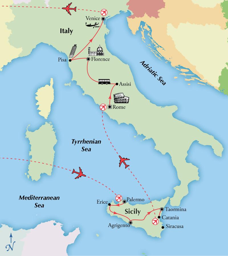 verbalone giurisprudenza catania italy map - photo#45