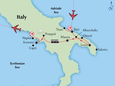11 Day Southern Italy Puglia Campania Visit Bari Lecce Matera