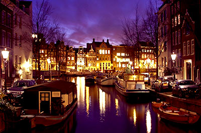 Amsterdam by Night with dinner Thumbnail