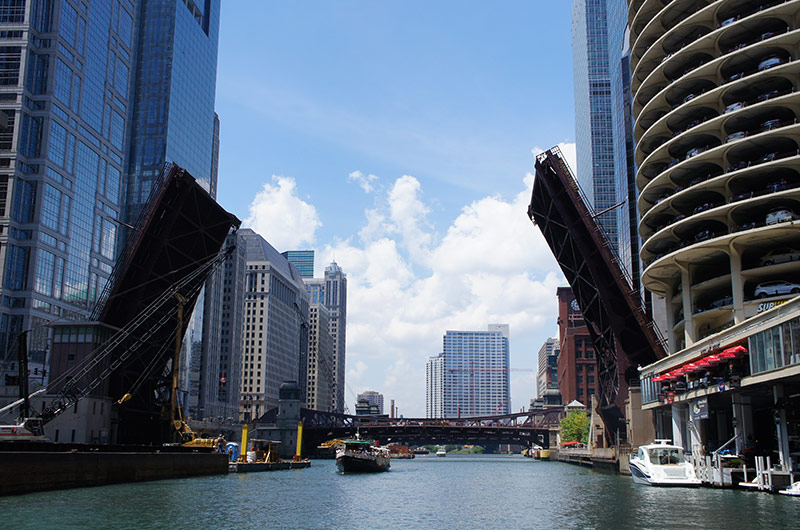 Chicago Loop Bridges