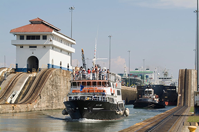 Half Day Partial Transit of Panama Canal with lunch 8:00 AM Thumbnail