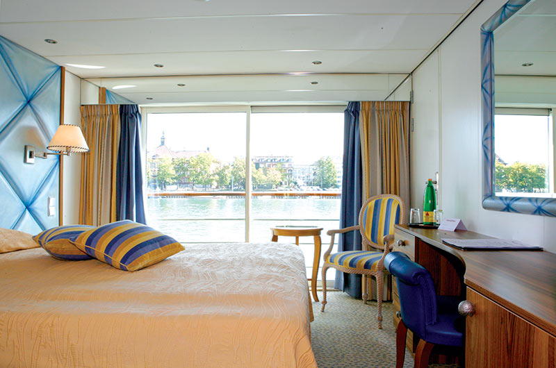 Cat A- Danube Deck Cabin (French Balcony)
