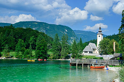 Lake Bohinj, the Alpine Beauty Thumbnail