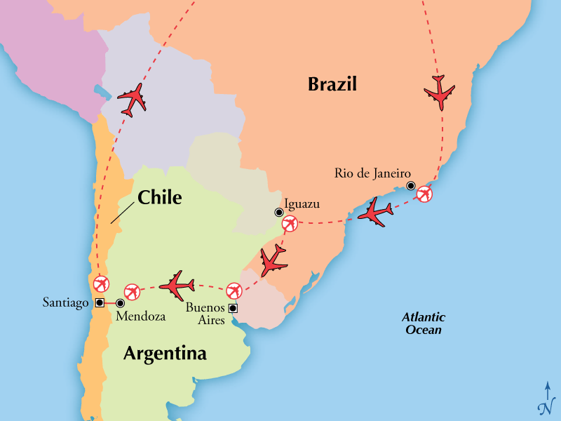 Day South America Tours - Where is buenos aires