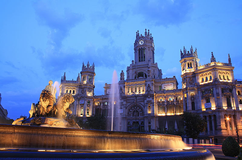 Cibeles Fountain, Madrid