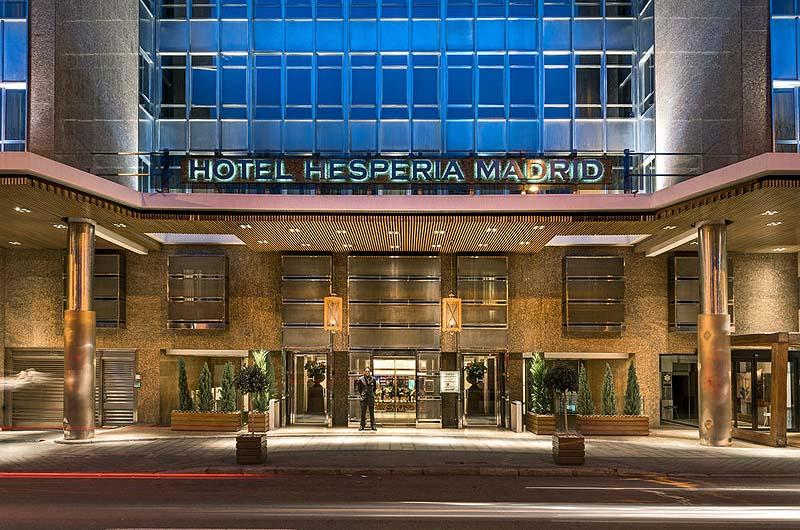 Hotel hesperia madrid gate 1 travel more of the world for Listado hoteles 5 estrellas madrid