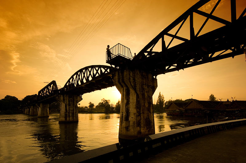 Bridge over the River Kwai, Thailand