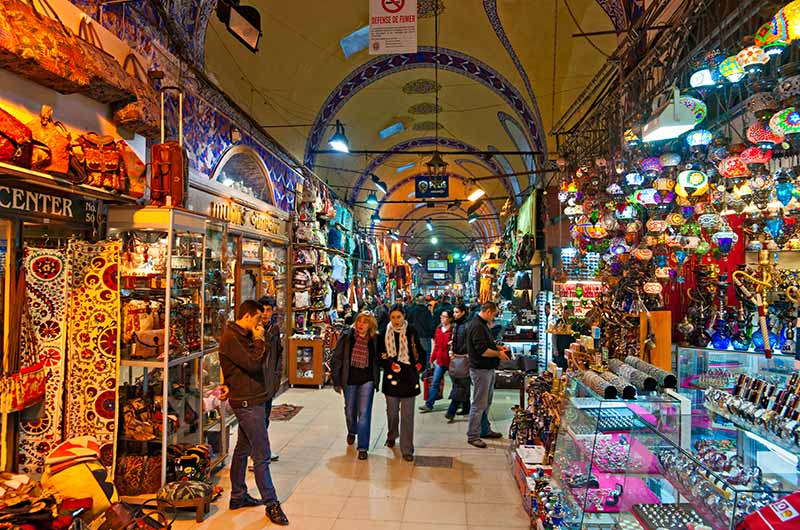 Half Day Istanbul Bosphorus Cruise & Grand Bazaar Thumbnail