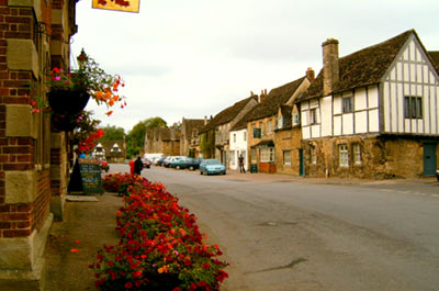 Village of Lacock with dinner Thumbnail