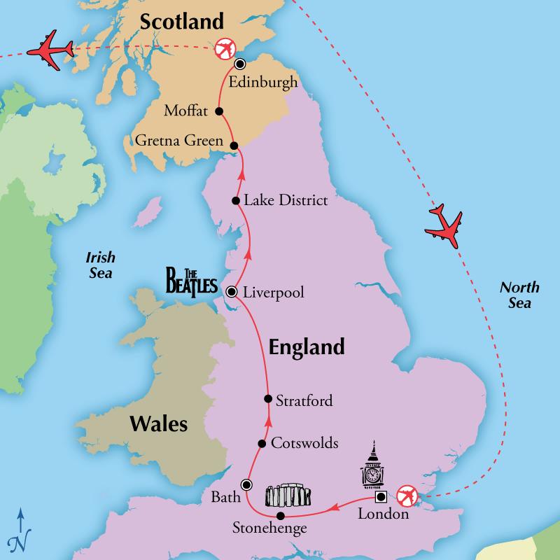 England Scotland Escorted Tours