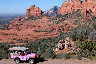 Pink Jeep Excursion to Scenic Rim Thumbnail