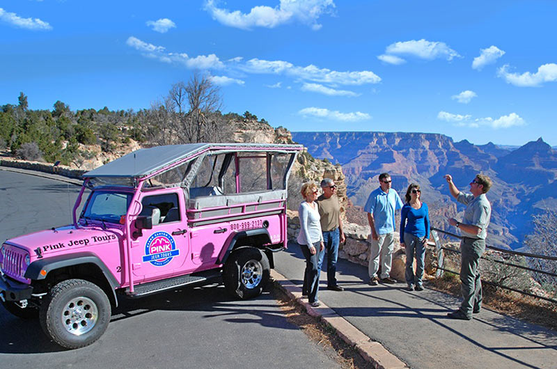 Pink Jeep Excursion to Grand Canyon Thumbnail
