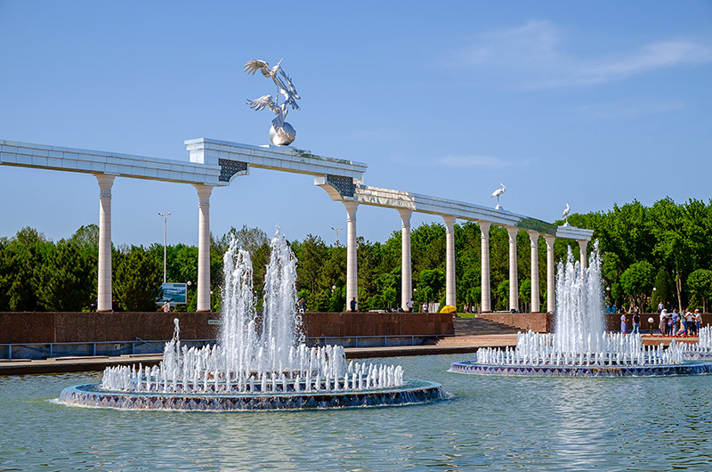 Independence Square Fountain